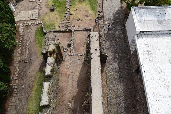 Faro de Colonia del Sacramento: Vista desde arriba del faro