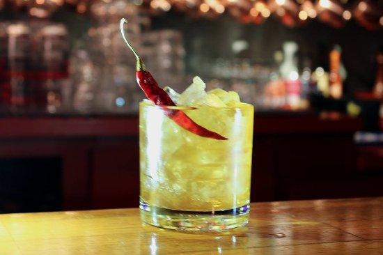 Kenosha, WI: Chipotle Honey Manhattan Cocktail
