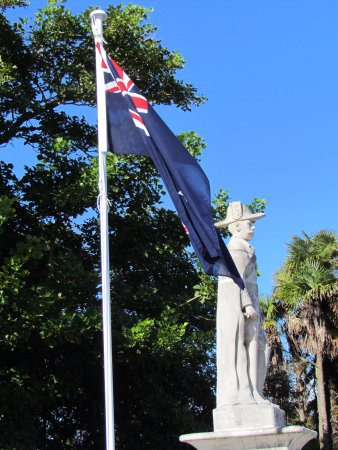George V proudly overlooking Matakana