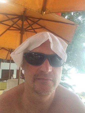 Villa Elisabeth: Cool towel