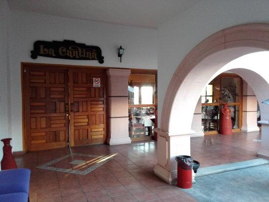 Catavina, Mexiko: Eingang zum Restaurant