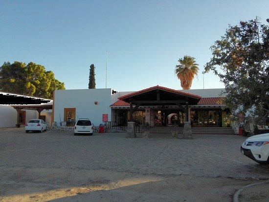 Catavina, Meksika: Ansicht bei der Einfahrt