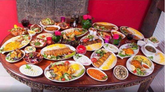 Nan bread picture of manoush cuisine london tripadvisor for Ahmads persian cuisine