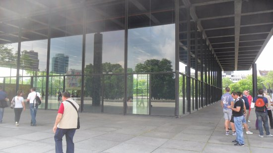 New National Gallery (Neue Nationalgalerie): New National Gallery