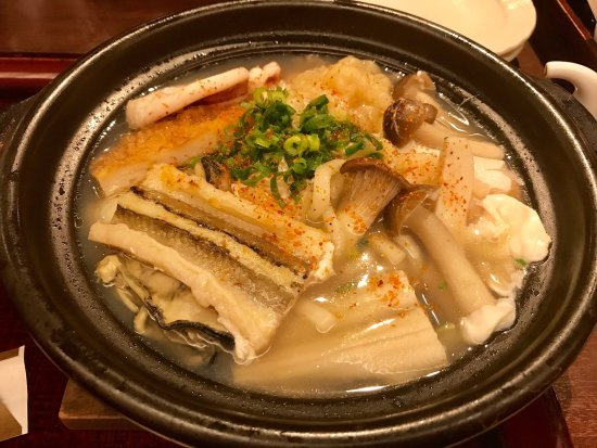 One of the best udon soups in Japan