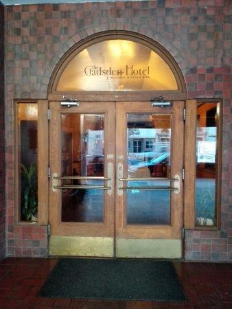 Douglas, AZ: Die historische Eingangstür