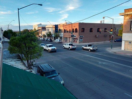 Douglas, AZ: Blick von der Dachterrasse