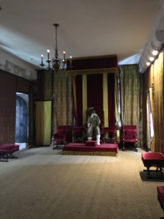 Castletown, UK: The throne room