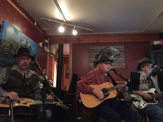Blue grass music at the Drift Inn