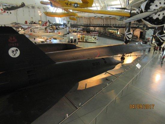 Smithsonian National Air and Space Museum Steven F. Udvar-Hazy Center: SR-71 Blackbird