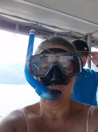 Vallarta Adventures: ready for first time snorkling !
