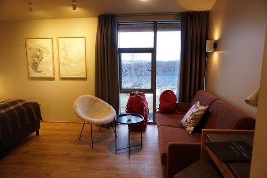Husafell, Islandia: Photo of my room