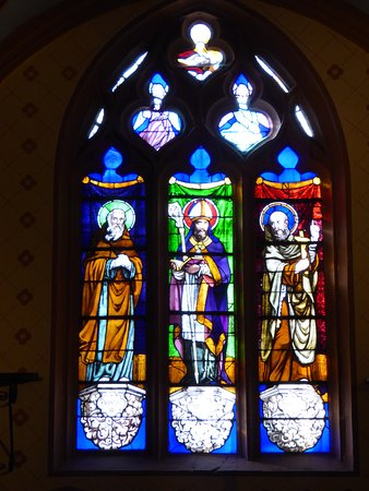 Beaujeu, France : Wonderful Stained Glass Windows