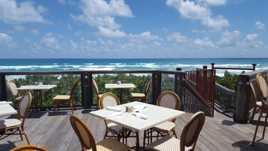 Jensen Beach, FL: Deck Dining