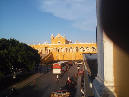 Izamal, México: View from balcony room 4