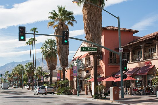 the main strip picture of palm canyon drive palm ForPalm Springs Strip Hotels