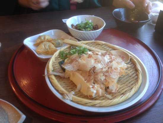 Higashiomi, Japón: ざる豆腐