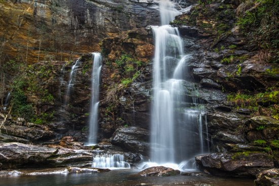 Glenville, NC: High Falls