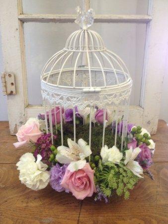 Birdcage Centerpieces For A Wedding Picture Of Pardon My Garden