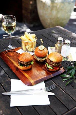 Orange, Australia: Gourmet beef sliders & chips