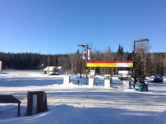 Teslin, Canada: Fuel up with us before you head off on your journey!