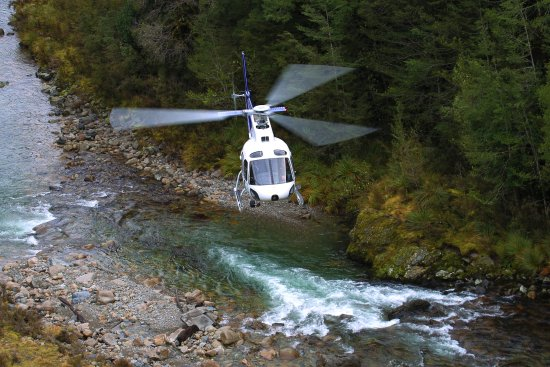 Murchison, New Zealand: The best combo you can get! Heli flight and Jet Boat ride!
