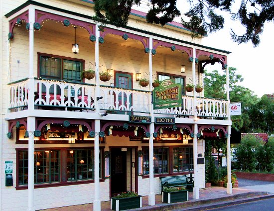 The National Hotel & Restaurant, Main Street, Jamestown CA