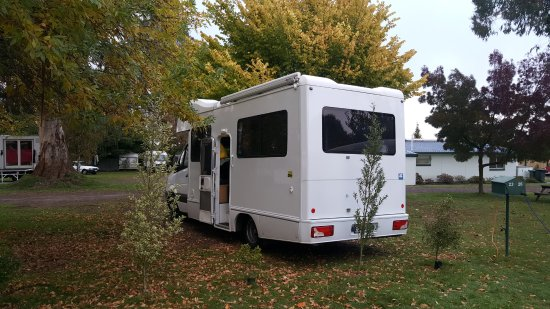 Great Lake Holiday Park : Powered Site