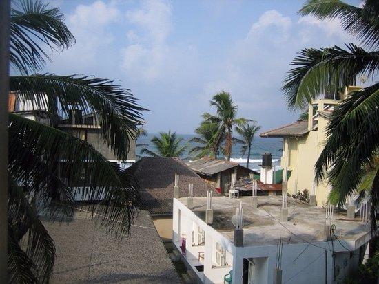 Blue Sky Beach Resort: вид с балкона номера