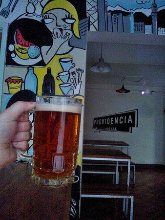 Hostal Providencia: Cheers!