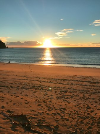 Abel Tasman National Park, Neuseeland: Beach sunrise