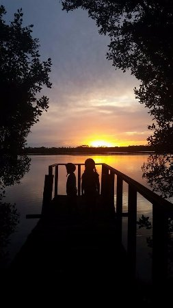 Iluka, ออสเตรเลีย: Beautiful sunsets on our Jetty