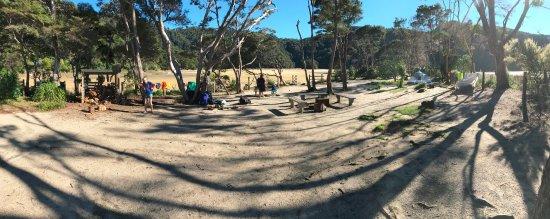Abel Tasman National Park, New Zealand: Bark Bay Campsite is special