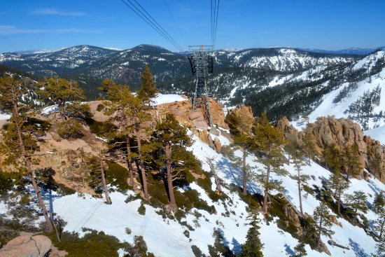 The Village At Squaw Valley : View from tram