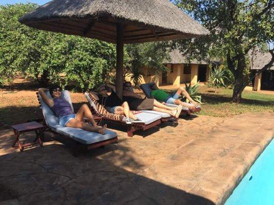 Marloth Park, Sydafrika: Petit moment de détente au royal kruger lodge 😊