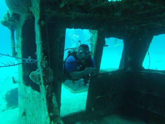 Grand Bahama Scuba: Rito in Wreck