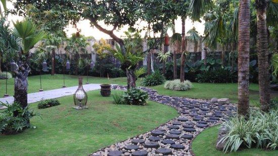 Bondowoso, Indonesia: taman