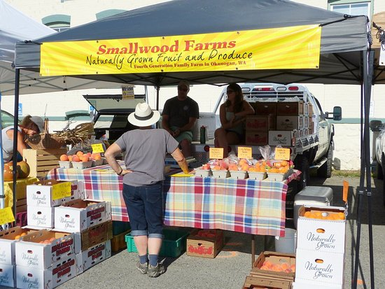 Twisp, WA: smallwood farms okanagan grown produce