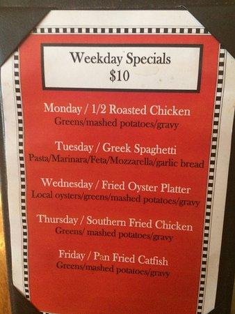 Strawberry Street Cafe Richmond Menu Prices