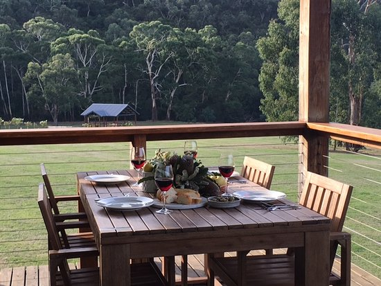 Perfect end to the day - Yering Gorge Cottages