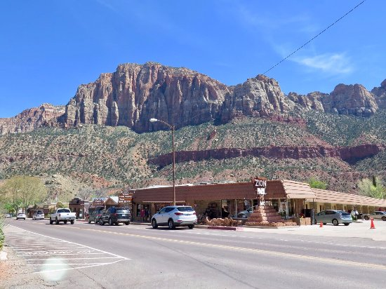 Zion Park Motel: Right in the middle of Zion NP