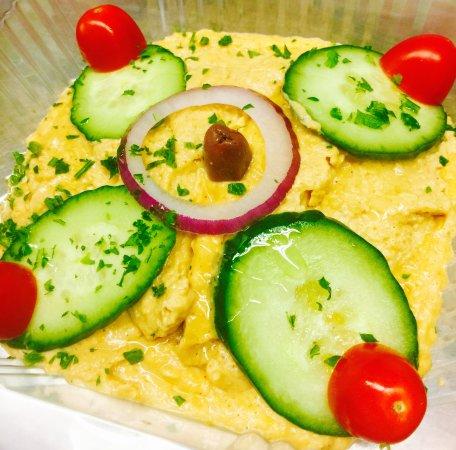 King Gyros Greek Restaurant: Hummus appetizer