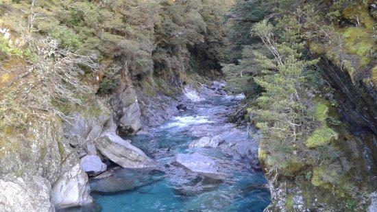 Wanaka, New Zealand: Blue Pools 6