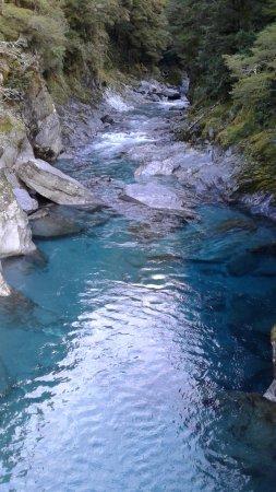 Wanaka, New Zealand: Blue Pools 7