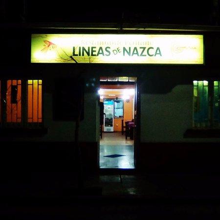 San Felipe, Chile: Restaurant at nigth