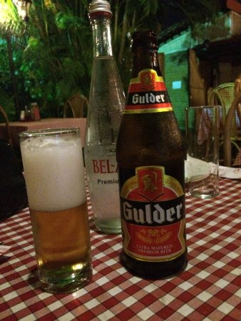 Mamma Mia : a nice cold Ghanan beer on a hot night