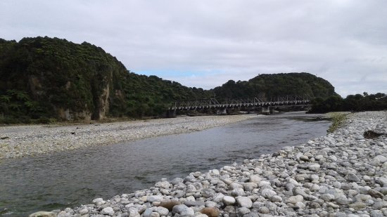 Fox Glacier, Selandia Baru: Fox River