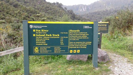Fox Glacier, نيوزيلندا: Entrance