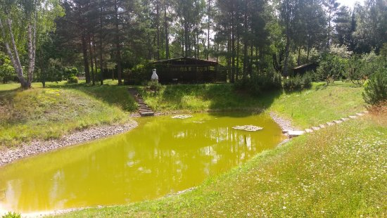 Saulkrasti, Latvia: Near the house