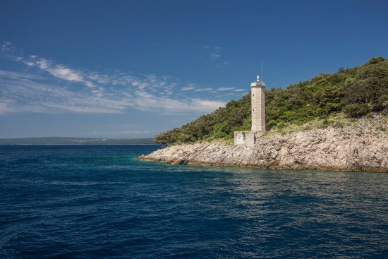 Punat, Chorwacja: Lighthouse, Island Cruise with Croatia Excursions
